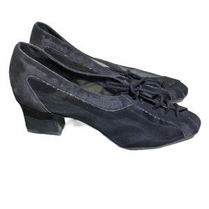 DSOL Women's Ballroom dance shoes mesh